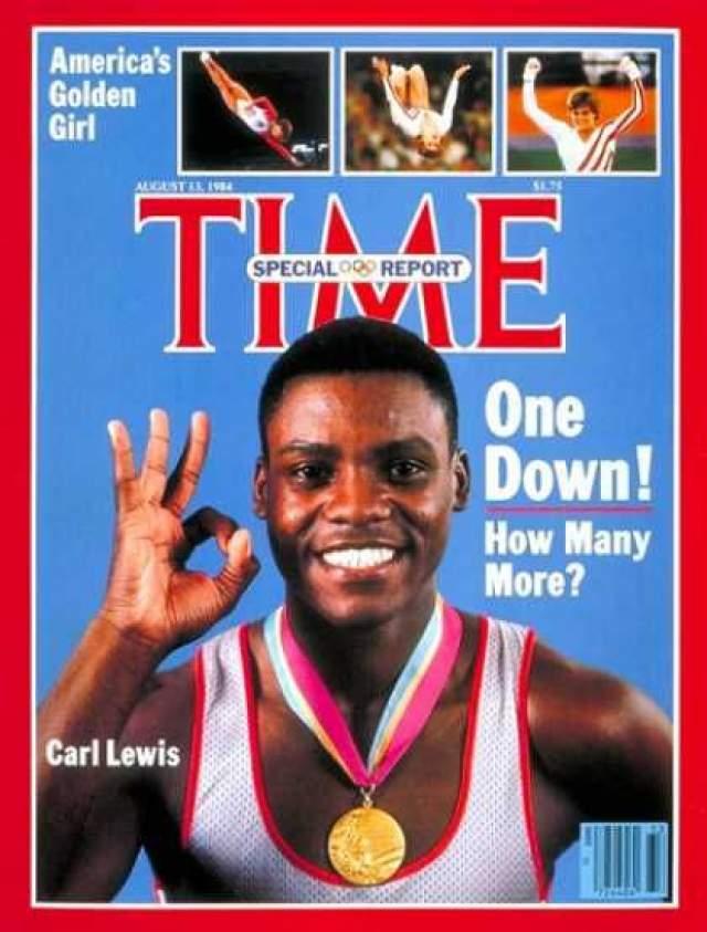 Карл Льюис. Американский легкоатлет впервые попался на допинге в 1988 году, по его словам, вещество содержалось в средстве от простуды, поэтому спортсмена просто допустили к соревнованиям.