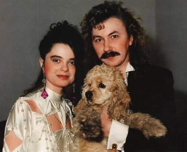 Молодые Наташа Королева и Игорь Николаев.