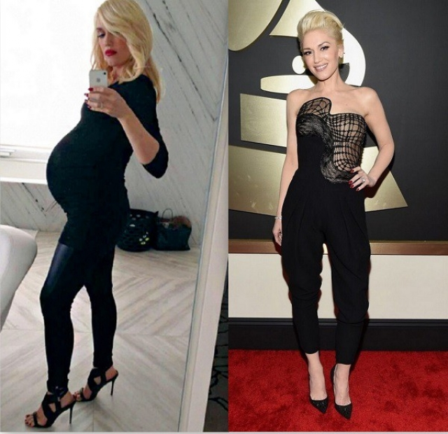Гвен Стефани. После рождения каждого из трех детей певица добилась прежней стройности спустя всего семь недель после родов, посещая танцевальную студию и придерживаясь диеты.