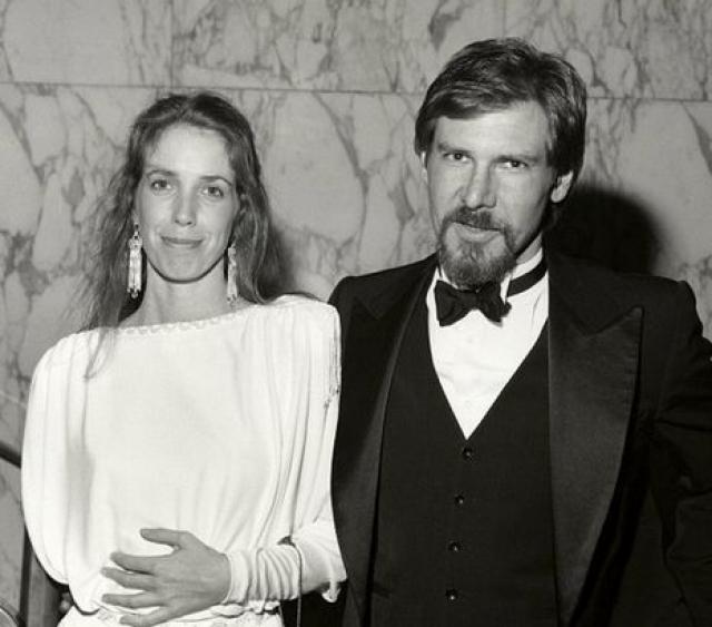 Мелисса Мэтисон. Когда Харрисон Форд женился на Мелиссе, он был малоизвестным актером.
