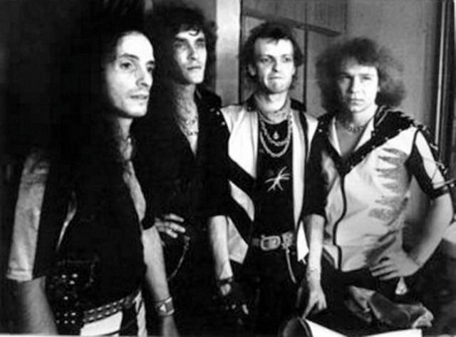 Начесанная группа Ария, 1986 год.