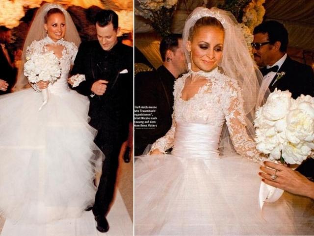 Николь Ричи и Джоэл Мэдден. Приемная дочь известного певца Лайонела Ричи и музыкант рок-группы Good Charlotte Джоэл Мэдден поженились 11 декабря 2010 года, уже будучи родителями двоих детей.