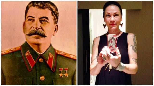 Самая известная из девяти внуков Иосифа Сталина (Джугашвили) - 45-летняя Крис Эванс, урожденная Ольга Питерс . Ее родила Светлана Аллилуева, единственная дочь вождя. Долгое время Крис скрывала тайну своего рождения, пока один российский блогер не рассказал о ней. Живет в Портленеде, занимается бизнесом. Не говорит о политике и считает своего дедушку жестоким человеком.