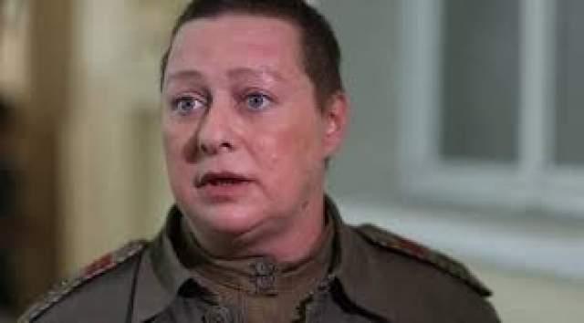 """Мария Аронова также, как и Мария Кожевникова, подстриглась для роли в """"Батальоне смерти""""."""