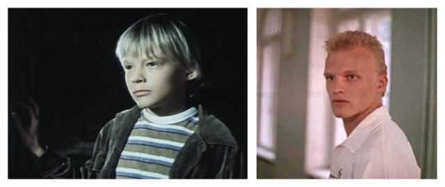 """Алексей Серебряков в детском возрасте снимался довольно часто, дебютировав в фильме """"Поздняя ягода"""" в возрасте 13 лет."""