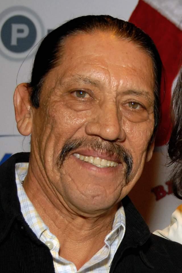 Дэнни Трехо. Усы с опущенными кончиками, также как у многих героев нашего репортажа, в случае с актером стали его визитной карточкой.