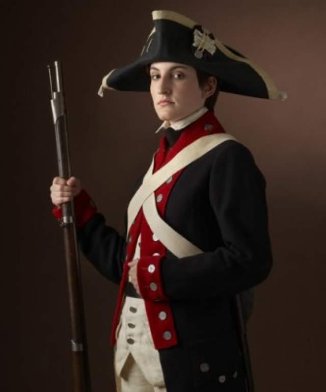 Дебора Самсон. Изъятие пули после огнестрельного ранения. Самсон участвовала в войне за независимость США. Для того, чтобы принимать участие в боевых действиях, она переоделась мужчиной.