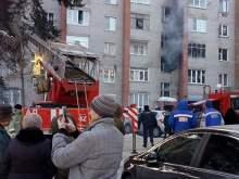 Пожар в Раменском районе: люди прыгали из окон, двое погибших (ВИДЕО)