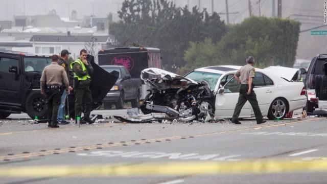 По словам очевидцев, виновником аварии был Брюс, при этом водитель машины, с которой произошло лобовое столкновение, погиб. Процесс по делу продолжается до сих пор, правда отвечает уже не Брюс, а Кейтлин .