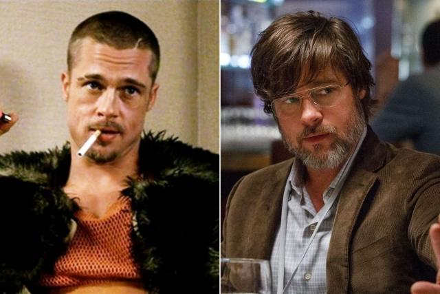 """""""Бойцовский клуб"""" (1999). Брэд Питт. Актер продолжает разбивать женские сердца и сниматься в кино, ну а его личная жизнь, наверняка, вам хорошо известна."""