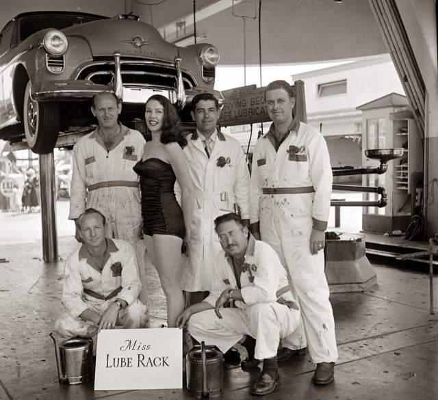 Мисс машинное масло - 1955 год.