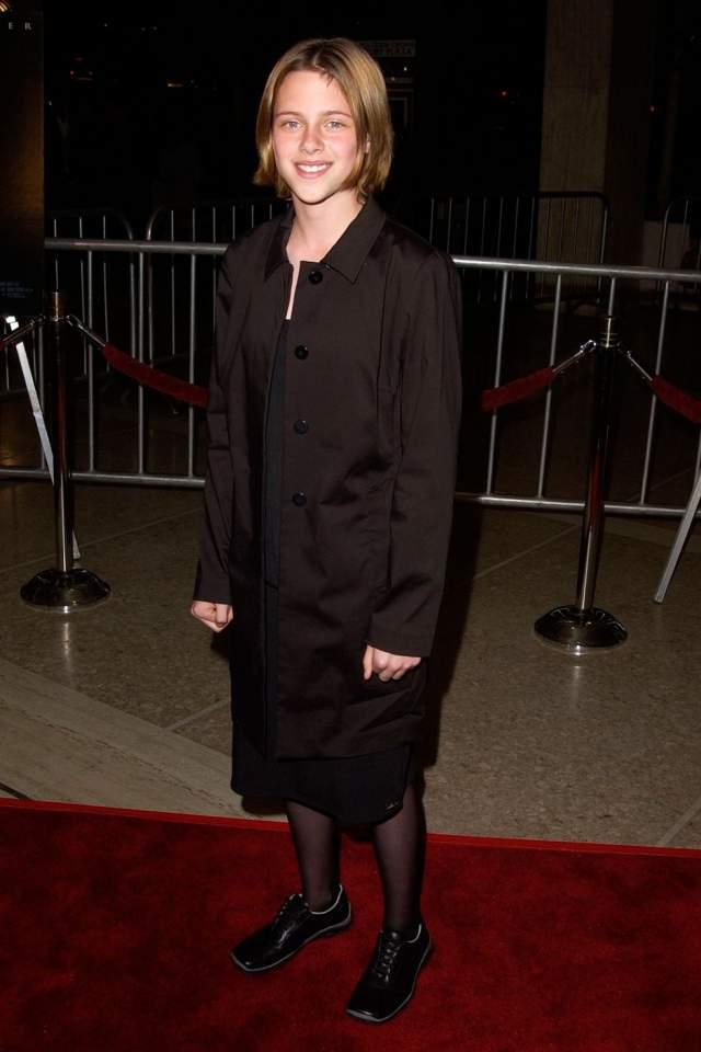 """А это Кристен Стюарт на премьере фильма """"Комната страха"""". Имидж актрисы совсем не изменился за 15 лет, не находите?"""