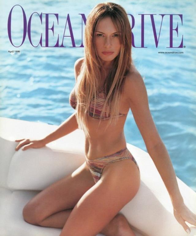 Меланья Трамп. Новая первая леди США - бывшая супермодель словенского происхождения: с 16 лет она начала сниматься для журналов и за свою карьеру успела побывать на обложках практически всех крупнейших в мире изданий - Vogue, Harper's Bazaar, Allure, Vanity Fair, Glamour, Elle и других.