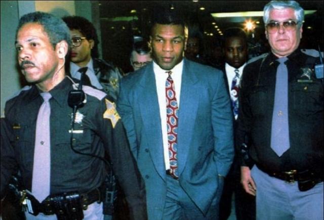 День спустя Дезире обвинила Тайсона в изнасиловании. Суд признал Майка виновным, несмотря на то, что улики были косвенные, а многие свидетели заявляли, что все, скорее всего, было по взаимному согласию.