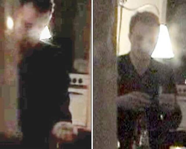 """Принимающий наркотик Хит Леджер. Нечеткие кадры, где можно узнать ныне покойного Хита Леджера во время приема """"кокса"""" в январе 2006 года на одной из вечеринок, возмутили его агентов. Они подали иск к фотоагенству Голливуда, заявив, что те специально дали порошок актеру."""