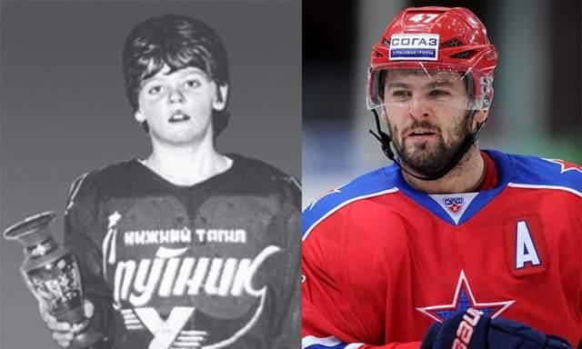 Александр Радулов. Нападающий хоккейного клуба ЦСКА и сборной России с юных лет был очень активным ребенком, поэтому родители решили отдать сына в хоккейную секцию. Как оказалось, не зря.