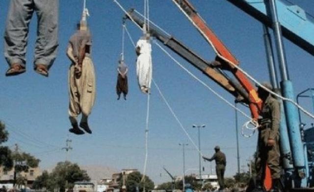 """Вертикальный """"трясун"""". Метод казни зародился в США, а в настоящее время часто используется в таких странах, как Иран."""
