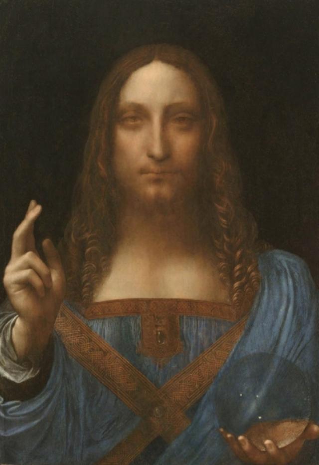 "$127 000 000. ""Спаситель мира"" , Леонардо да Винчи, 1506-1513 гг."