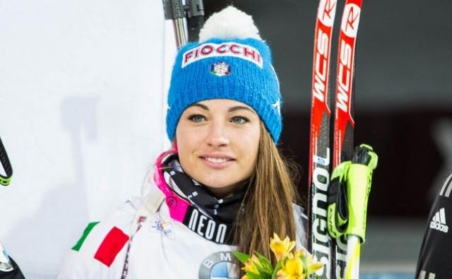 Доротея Вирер. Итальянская спортсменка, пожалуй, самая любимая биатлонистка большинства мужчин.