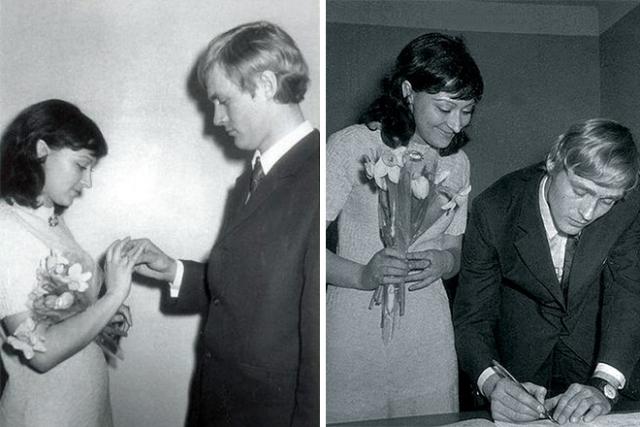 Татьяна Бронзова и Борис Щербаков познакомились и поженились во время учебы в школе-студии МХАТ и до сих пор вместе.