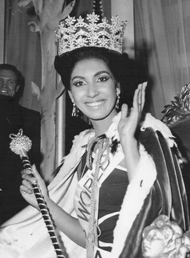 Рейта Фариа (Индия) - Мисс мира 1966.
