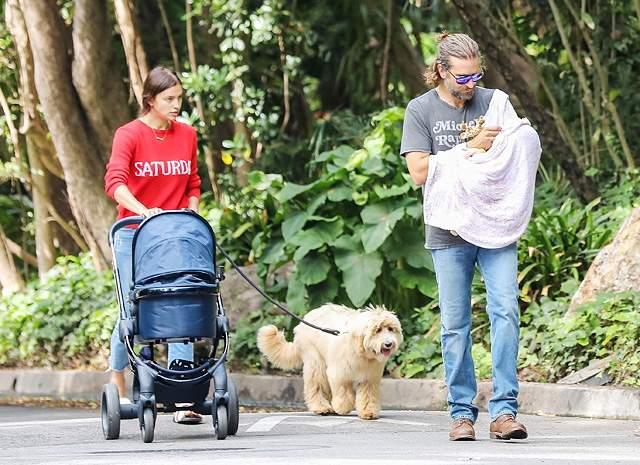 Тогда благодаря источникам из окружения пары и фотографиям папарацци все узнали, что Ирина и Брэдли планируют свадьбу и ждут ребенка.