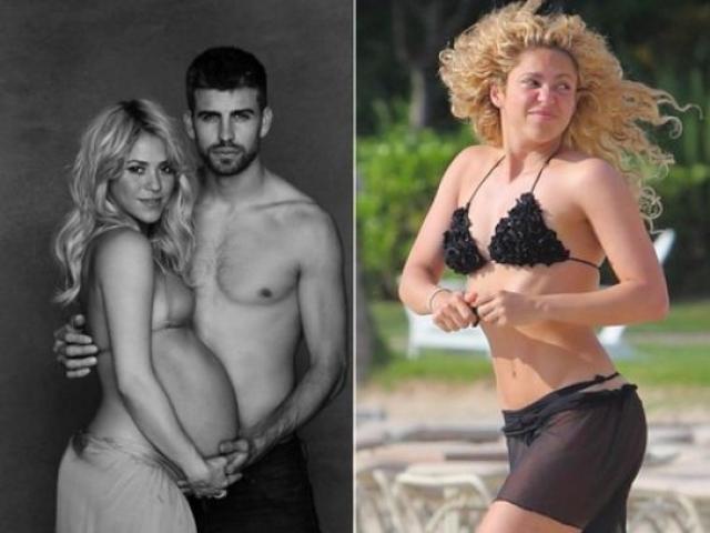 Шакира. 22 января 2013 года у певицы родился первенец, а через полтора месяца молодая мама демонстрировала идеальное тело на пляже.