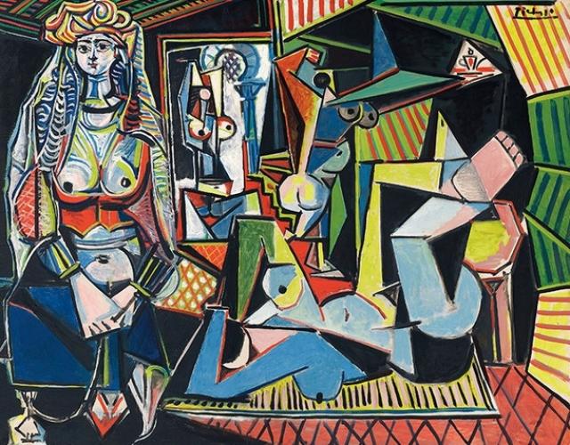 """$179 400 000. """"Алжирские женщины"""" , Пабло Пикассо, 1955 год."""