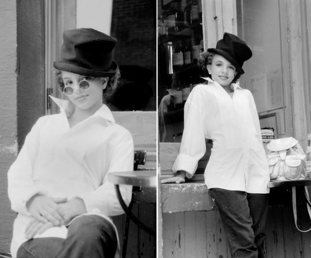 """Учась в бродвейской школе в Нью-Йорке, десятилетняя Бритни дебютировала на канале Disney в телеспектакле """"Безжалостный"""": она играла роль хорошей девочки, которая на самом деле мечтает делать гадости другим."""
