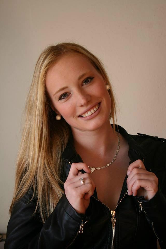 Ивона Фиалкова. 22-летняя красавица из Словакии.