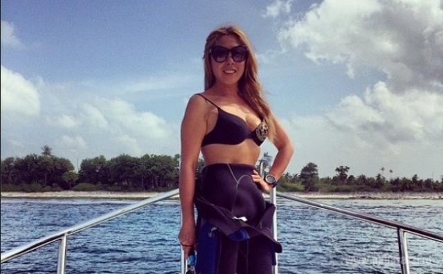 Анита Цой в купальнике позировать могла не всегда, поскольку в молодости весила около ста килограммов .