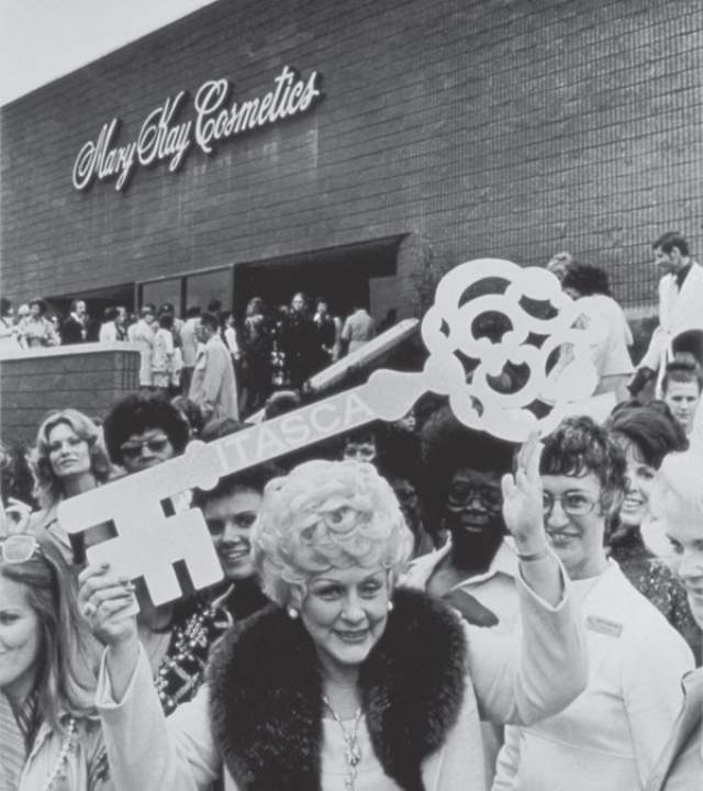 В процессе работы над произведением она поняла, что создала новейшую бизнес-модель, по которой и открыла свой первый магазин Mary Kay Cosmetics.