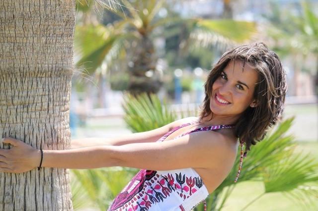 Виктория Падьяль Эрнандес. Представительница экзотической для биатлона жаркой Испании.