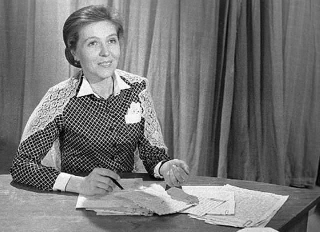 """Проработав ведущей более 20 лет, несколько лет Ю. В. Белянчикова была главным редактором журнала """"Здоровье""""."""