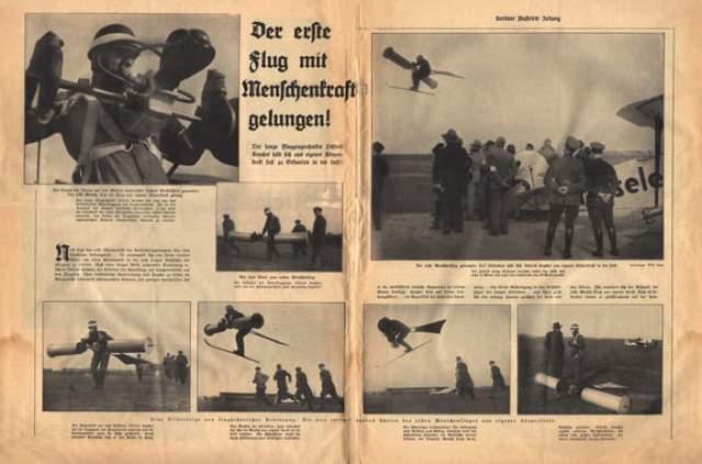 Шуточное фото перепечатали многие газеты, в том числе американские, например The New York Times, New York Daily News, Chicago Herald & Examiner и так далее.