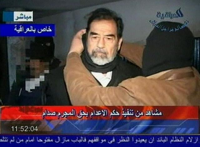Было решено осуществить казнь Саддама Хусейна в присутствии специальной делегации представителей, а сам процесс заснять на видео.