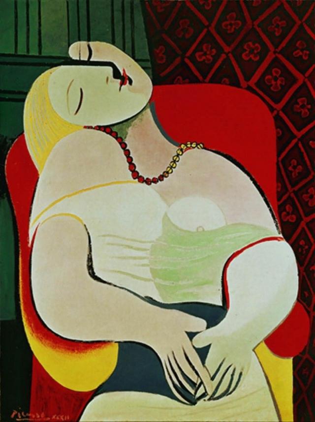"""$155 000 000. """"Le Reve"""" (""""Мечта"""" или """"Сон""""), Пабло Пикассо, 1932 год."""