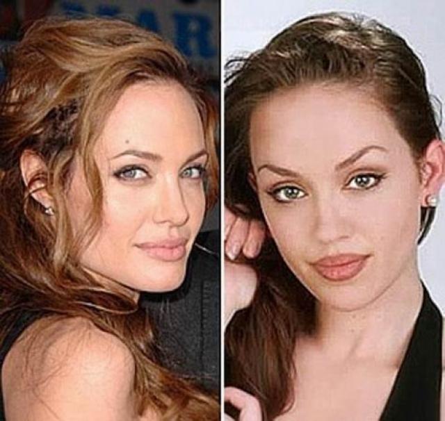 Тиффани Клаус - профессиональный двойник голливудской дивы Анджелины Джоли.