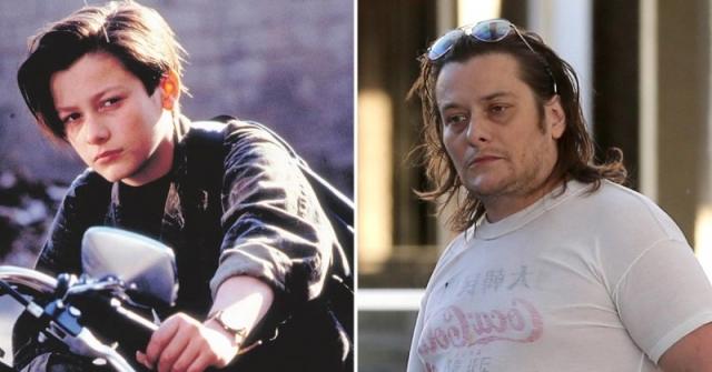 Эдвард Ферлонг. У юноши были все шансы стать кинозвездой, но вредные привычки превратили его в обрюзгшего мало востребованного актера с проблемами с законом.