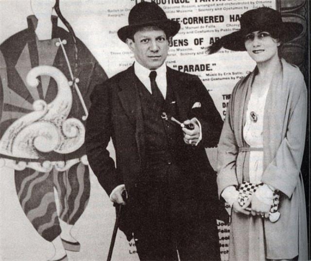 4 февраля 1921 года у Ольги родился сын Пауло (Поль). С этих пор в отношениях и начала расти трещина.