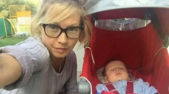 Внука Тедора актрисе подарил ее 23-летний сын Никита от первого брака.