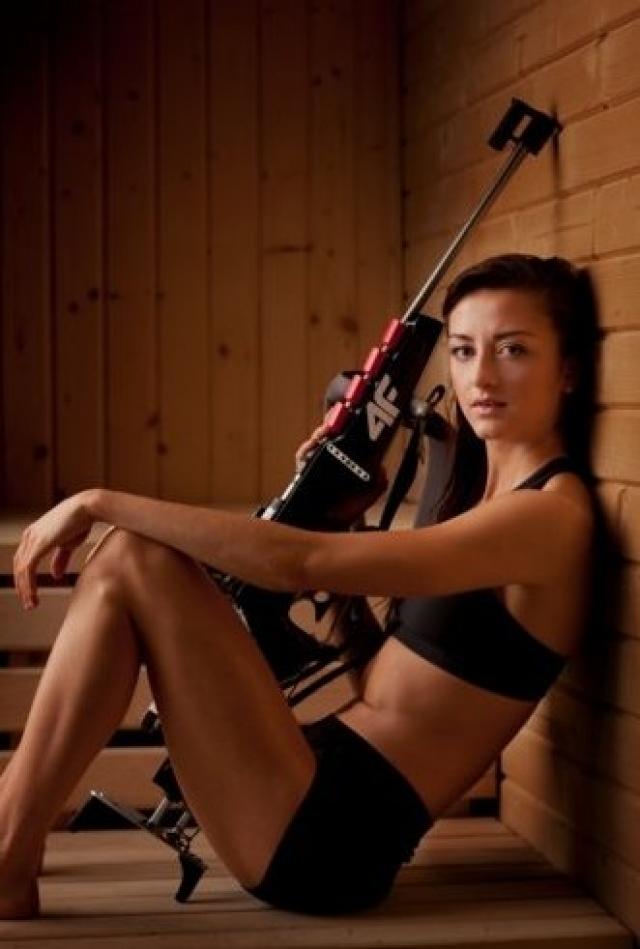 Моника Хойниш. Наивысшей позиции биатлонистка из Польши добилась в 2013 году - это была бронза в масс-старте Кубка мира.