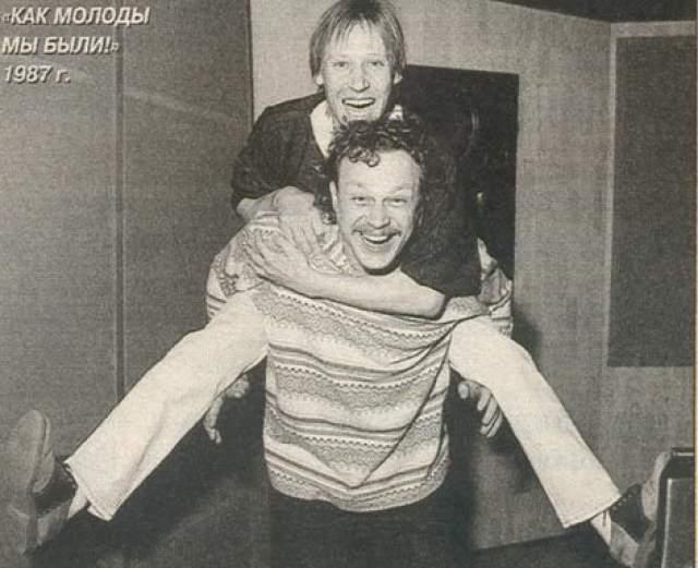 Дмитрий Харатьян и Сергей Жигунов.