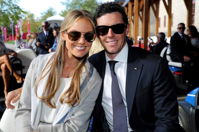 А Макилрой в 2015 году начал встречаться с бывшей сотрудницей PGA of America Эрикой Столл. В апреле 2017-го они поженились. Рори (бывший парень Меган Маркл, кстати) - не в восторге от спортсменок, судя по всему.