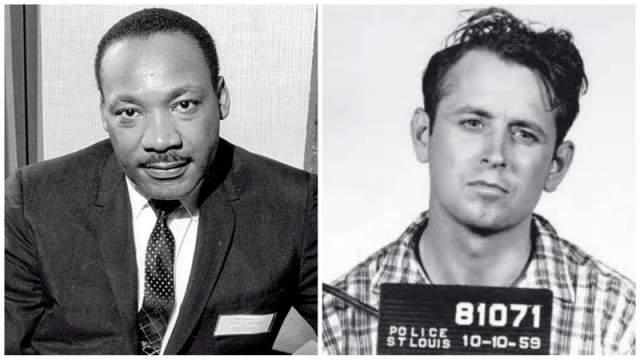 Джеймс Эрл Рей. Жертва: Мартин Лютер Кинг. За этим убийством скрыта тайна, которая вряд ли будет когда-либо разгадана. Джеймс Эрл Рей подписал чистосердечное признание, однако следствие велось грязно, со множеством несостыковок.