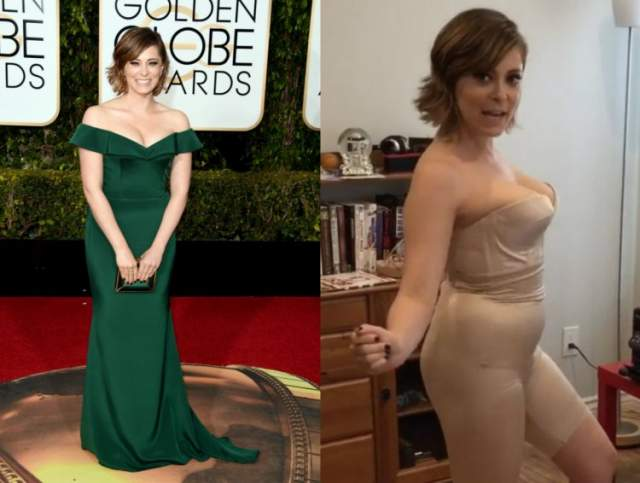 Актриса Рейчел Блум самостоятельно продемонстрировала в соцсетях, что прибегает к помощи корректирующего боди.