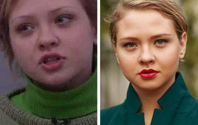 """Надежда Иванова (Соня) . """"Школа"""" также дала толчок карьере актрисы, которая много снимается в фильмах и сериалах."""