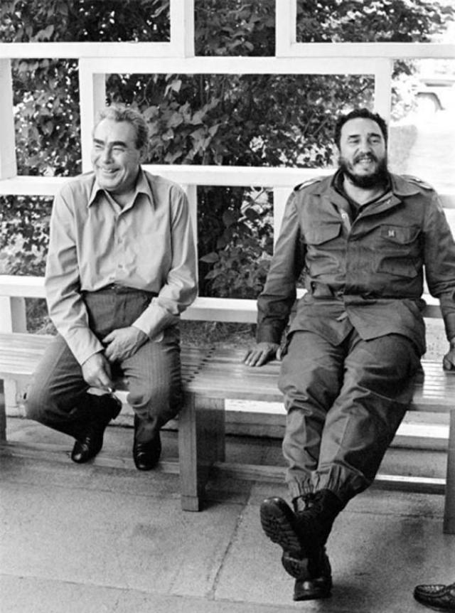 Ну а с Фиделем Леонид Ильич чувствовал себя гораздо органичнее, нежели Хрущев.
