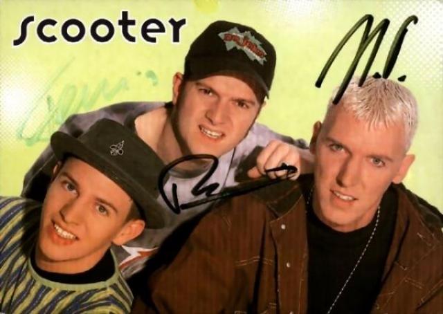 """Scooter. Немецкий музыкальный коллектив, ориентированный на танцевальную и энергичную музыку, в 90-х только ленивый не вопрошал """"How much is the fish"""" вместе с фронтменом."""