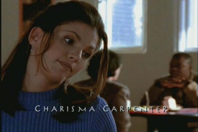 """Харизме Карпентер было 27, когда она начала играть роль 16-летней Корделии Чейз в первом сезоне """"Баффи – истребительница вампиров""""."""